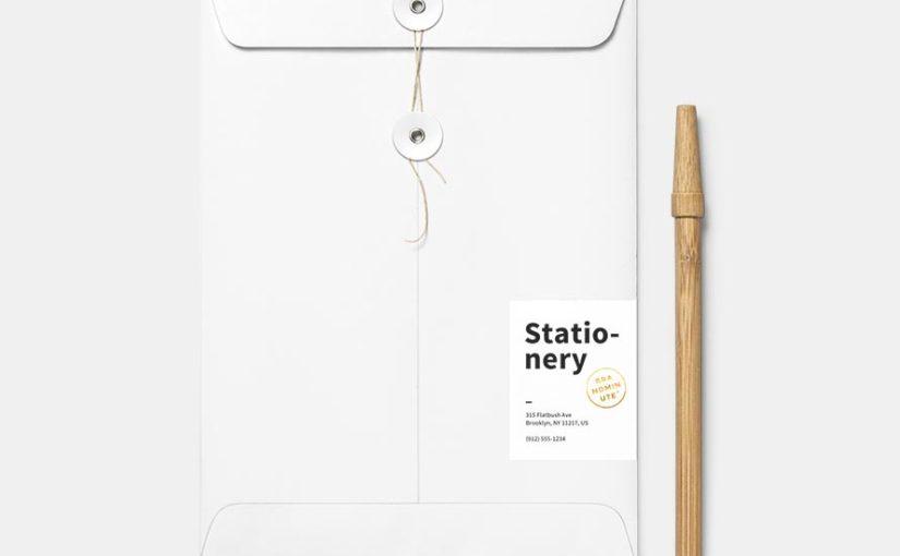Paper Envelope Layout Design